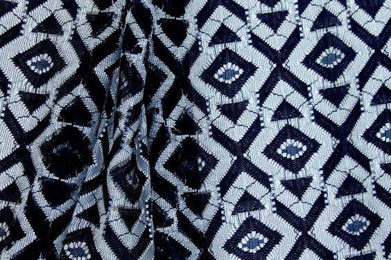 Designer rayon lace fabric