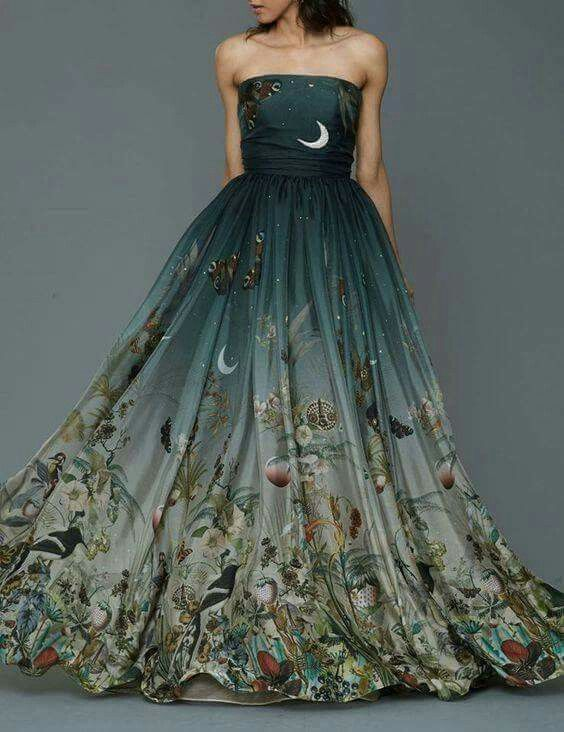 One of my fairy dresses.Omg! This is freaking beautiful.❤❤I got to have it!!
