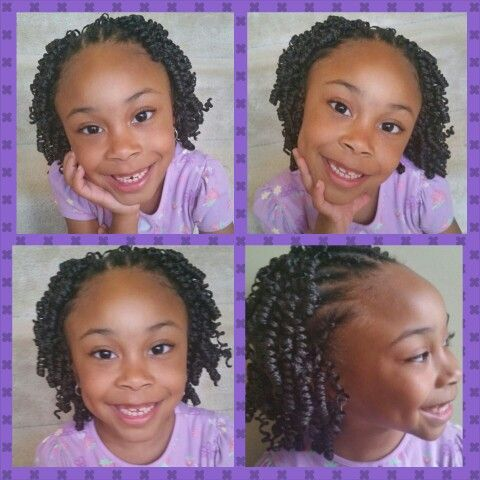 Crochet Braids Knots : Kiddie Crochet Braids with Knot Spring Braid by Superline?