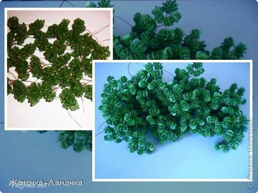 """Bonsai, topiary, Beading Workshop: Mark """"Twigs for"""" Bones """"2-way ..... Beads, Sequins, Wire. Picture 1"""