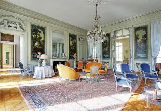 A 40 Km De Paris Chateau Du 18e S Avec Facades Et Toiture Imh