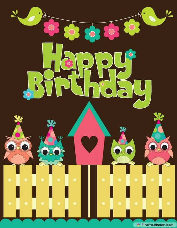 Happy-Birthday-Card-Design-With-Funny-Owls.jpg (930×1200)