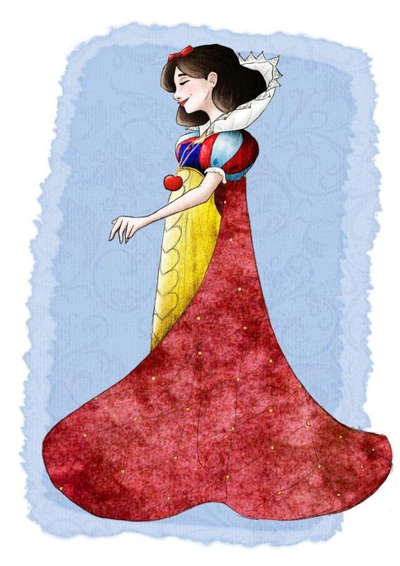 Snow White by baelor,  in DeviantArt