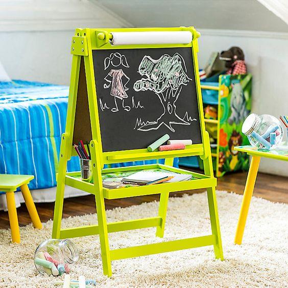 Pizarra para que puedan jugar y practicar el abecedario for Muebles para ninos