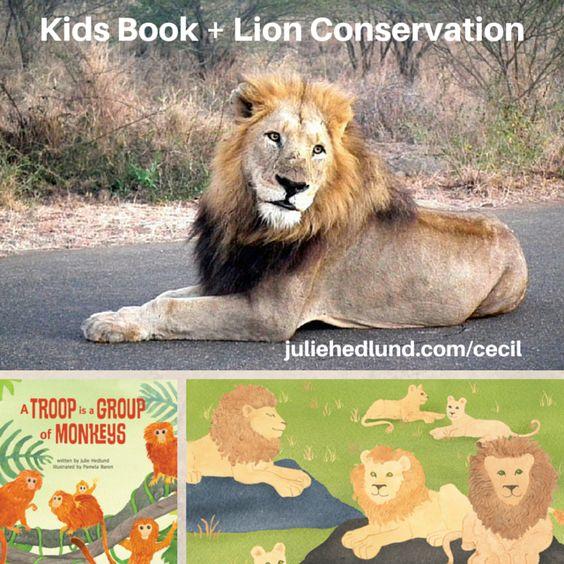 Support #wildcru and #worldlion day with a #picturebook. http://www.juliehedlund.com/cecil?utm_content=buffer4950e&utm_medium=social&utm_source=pinterest.com&utm_campaign=buffer