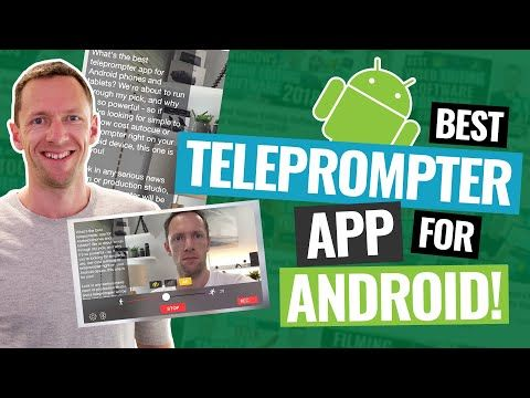 1 Best Teleprompter App For Android Updated Youtube Android App Android Apps