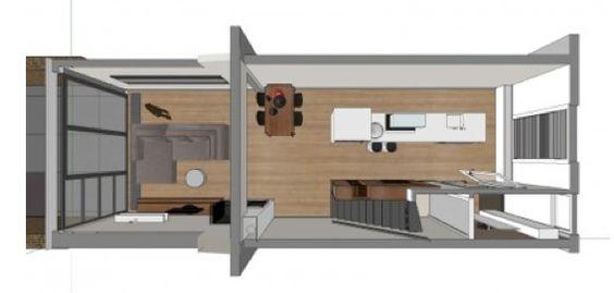 Plattegrond Keuken Met Kookeiland : smalle keuken google zoeken more plattegrond interieurplan keuken