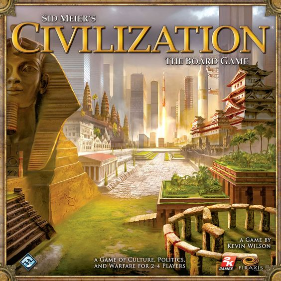 Used Sid Meier's Civilization: The Board Game (Never Played)