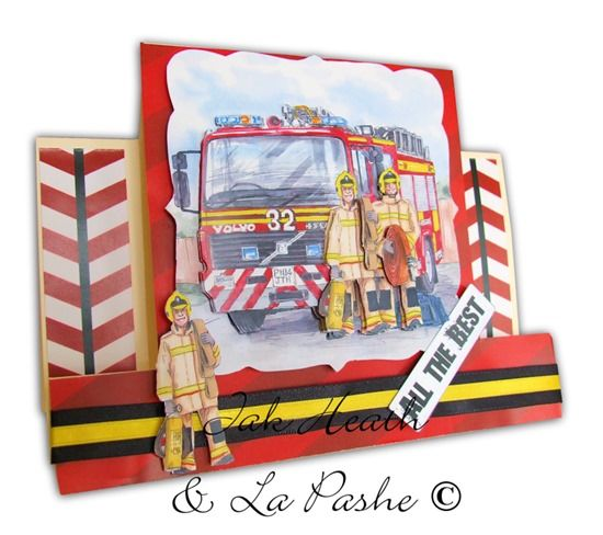 Decoupage: La Pashe Something for Everyone by Jak Heath Fireman