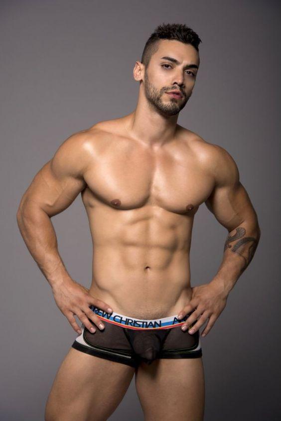 Andrew christian underwear models male