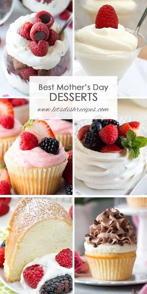 Best Mother's Day Desserts | Let's Dish Recipes