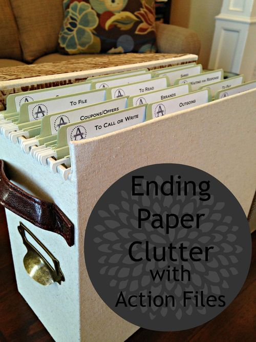 Getting rid of paper clutter with a mail station.  Bye, Bye, Paper Dragon - Action File Project. — Practice Hospitality.