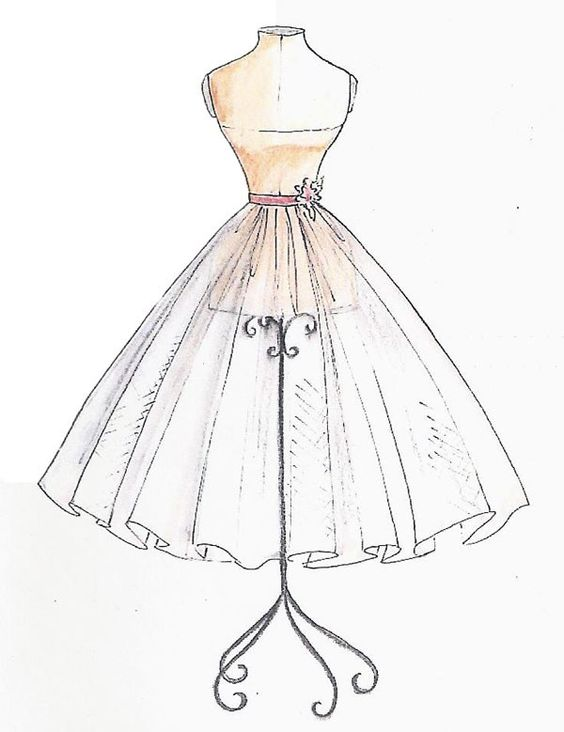 drawings of dress formscom google search sewing