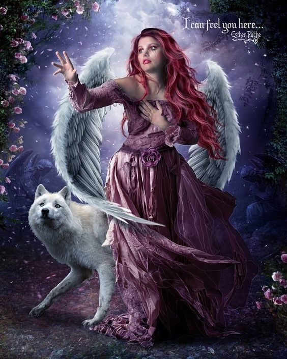 Beautiful, Artworks and Wings on Pinterest