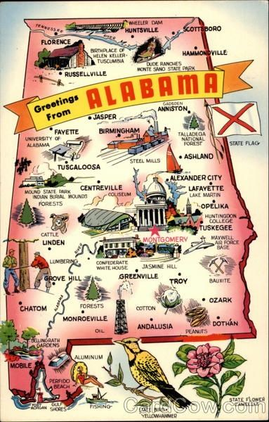 Things to see/do in Alabama! #alabama #travel #thesouth