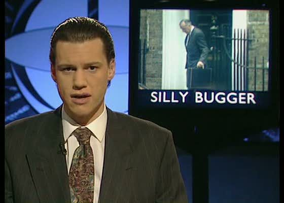 The Day Today - one of Chris Morris' and Armando Iannucci's funniest creations.
