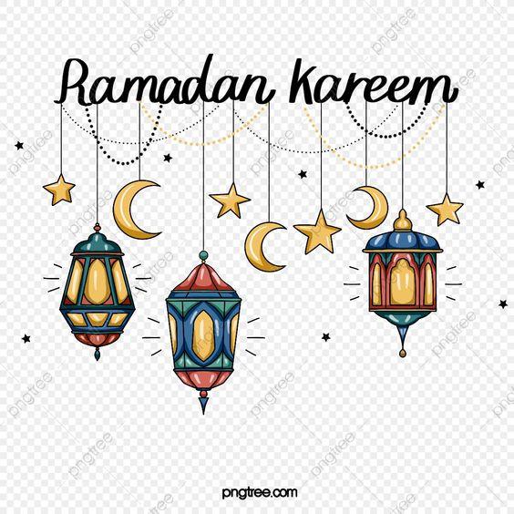 كرتون فانوس رمضان عنصر فانوس رمضان اللون فانوس Png وملف Psd للتحميل مجانا Ramadan Lanterns Cartoon
