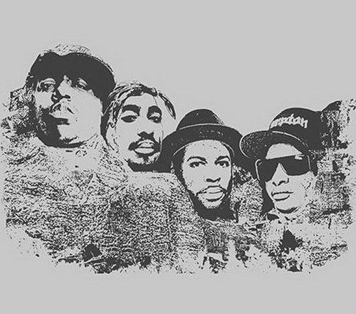 Notorious B.I.G., 2Pac, Jam Master Jay, Eazy E