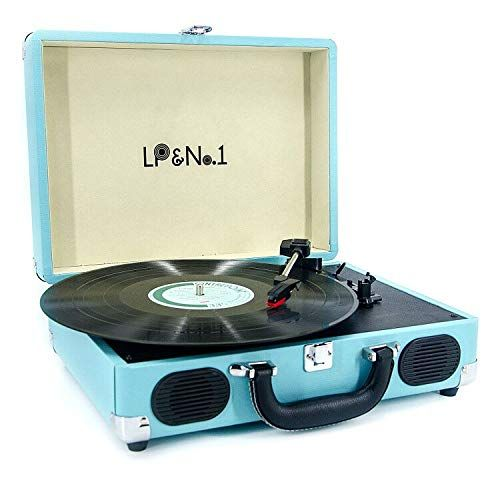 Lp No 1 Suitcase Bluetooth Turntable With Stereo Speaker Https Smile Amazon Com Dp B07q5xds4w Ref Cm Vinyl Record Player Lp Record Player Stereo Speakers