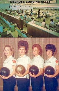 "My mom and dad were on a bowling league, and had the ""nifty"" shirts!"