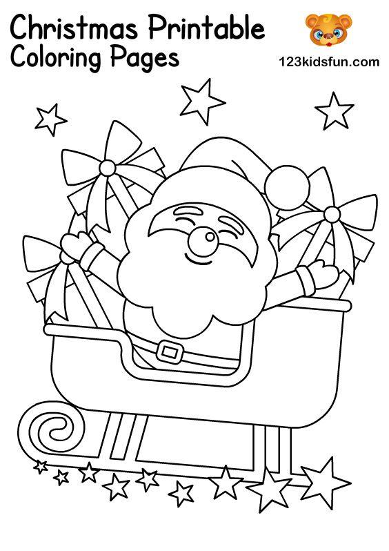 Free Christmas Printables For Kids 123 Kids Fun Apps Free Christmas Coloring Pages Christmas Coloring Pages Free Christmas Printables