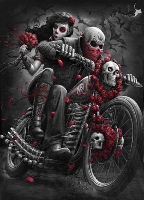 Dark Fantasy Art Skulls