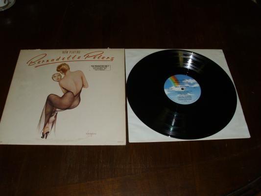 Bernadette Peters self titled Album vinyl Lp