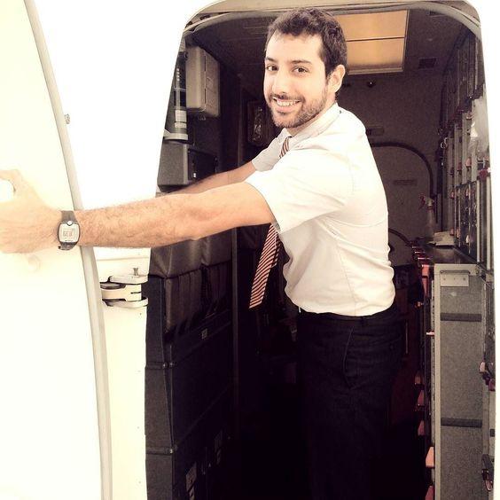 Sejam todos bem vindos! #façoparte #crewlife #vidadetripulante  #letsGol #orgulhoempertencer  #alexcanfly by alexautran
