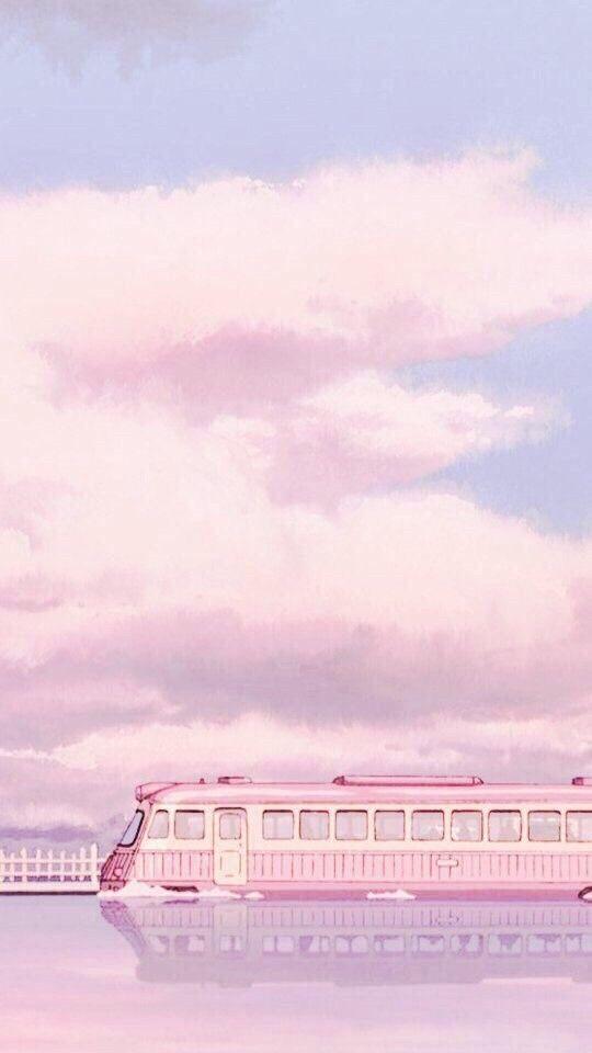 Anime Pink Wallpaper : anime, wallpaper, Lockscreens, Wallpapers, Pastel, Background, Wallpapers,, Scenery, Wallpaper,, Anime, Wallpaper, Iphone