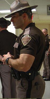 ball licking cop