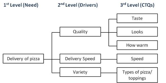 Critical To Quality Tree  Lean Six Sigma