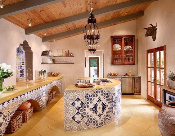 Cocinas Rusticas De Madera Piedra Ladrillo Y Disenos
