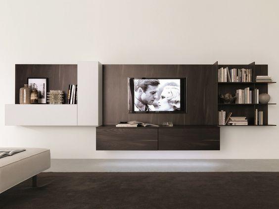 Muebles modernos para tv y equipo de sonido muebles - Muebles para equipos de sonido ...