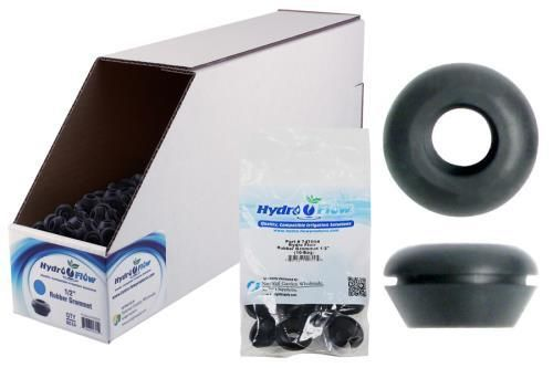 Hydro Flow Rubber Grommet 1 2 In Display Box 500 Box Rubber Grommets Display Boxes Grommets