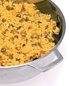 Arroz con Gandules Rice with Pigeon Peas: