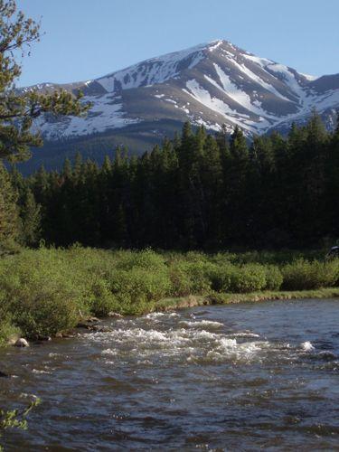 mount elbert highest 14er in colorado and north america     leadville colorado