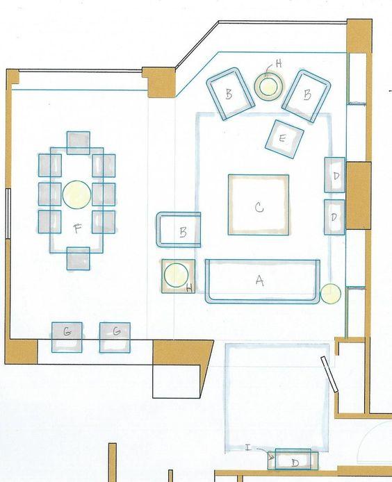 Furniture plan