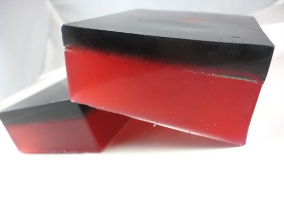 Midnight Pomegranate Soap by SymbolicImports on Etsy, $6.00