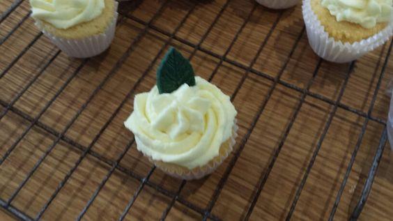 A lone cupcake!