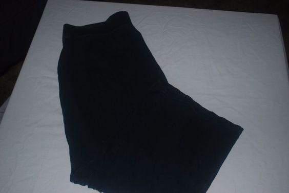 Columbia Sportswear Women's capri Lounge/yoga/sleepwear Pants Size XL BLACK…