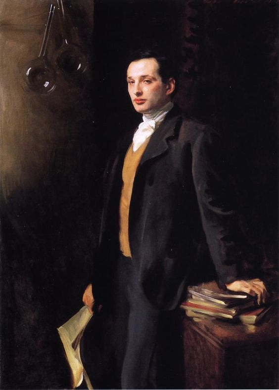 via Moika Palace: Alfred, son of Asher Werthermeier By John Singer Sargent, 1901.