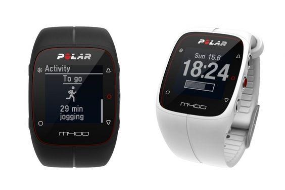 ポラール M400(ブラック、ホワイト): (c)ポラール・エレクトロ・ジャパン  これいいなぁ。 心拍計測もできるのか。