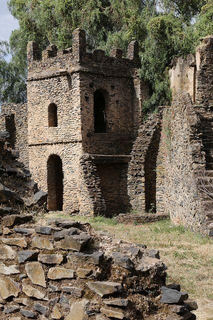 Ruins of Gondars Castle, Ethiopia | Raphael Bick