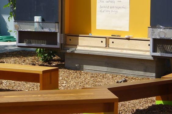 The outdoor classroom at Wildwood School, Los Angeles inspires creative learning. www.wildwood.org