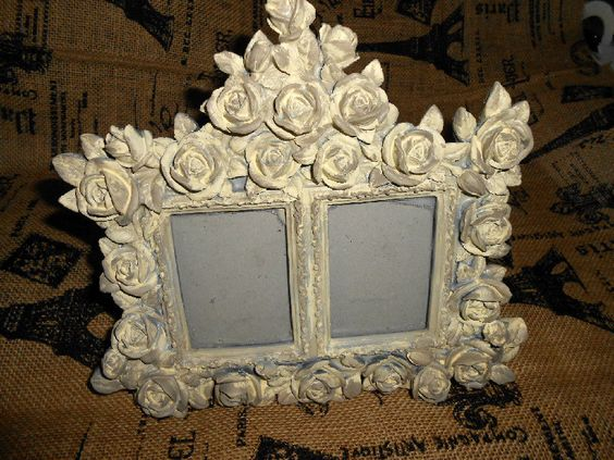 Distressed Vintage Picture Frame. $20.00, via Etsy.