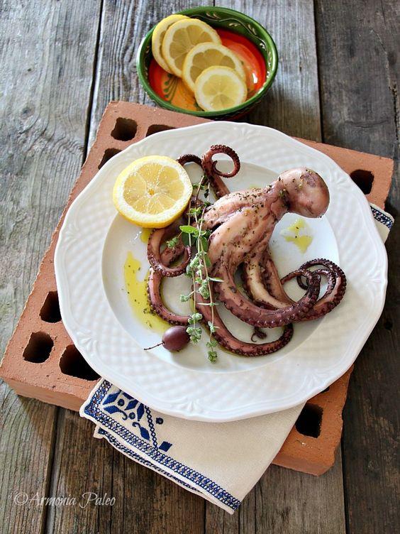 Grilled Octopus - Polpo Grigliato alla Greca