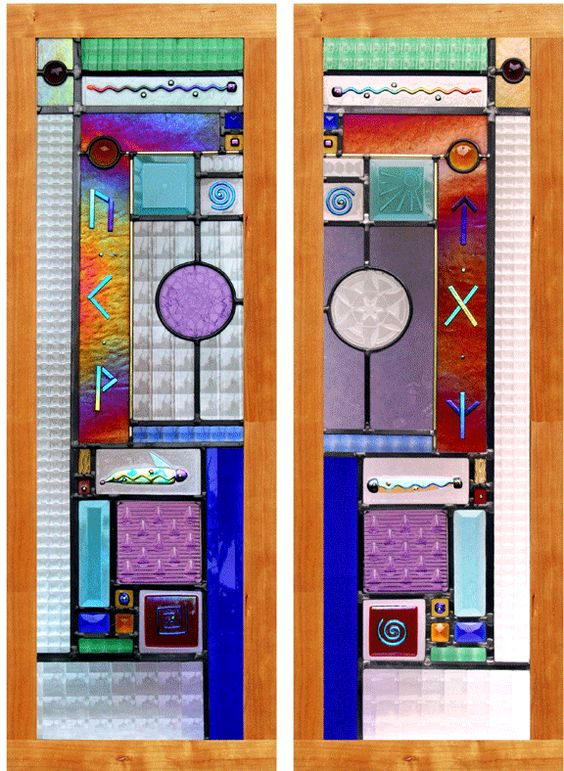 Stained Glass windows by Viola St. Pierre. Amazing. #art #design ...
