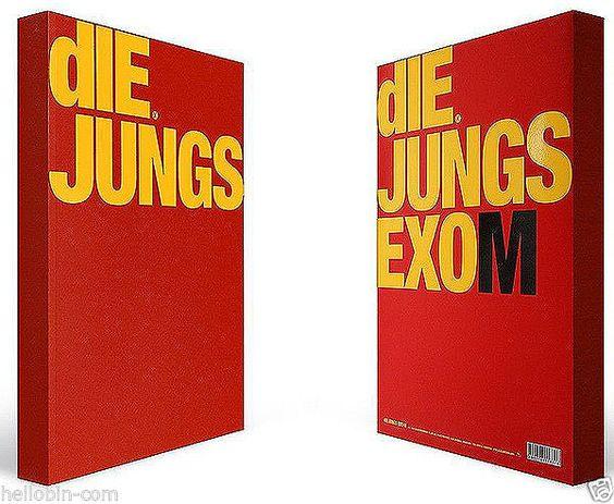 EXO - DIE JUNGS EXO-M (340p Photobook + Gift Post Card) K-POP [Photobook] #SMEntertainment