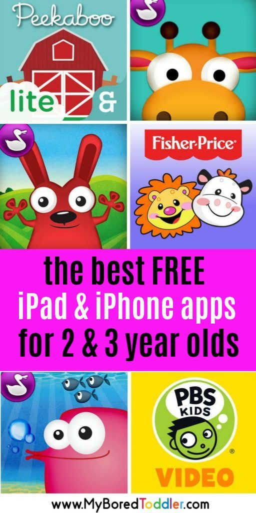 free educational apps for 3 year olds