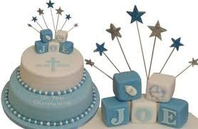 I would love something like this gorgeous cake for my sons Baptism which is in a few weeks